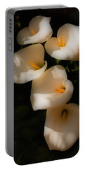 Dreamy Lilies Portable Battery Charger
