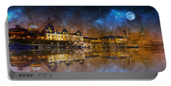 Dresden At Night Portable Battery Charger
