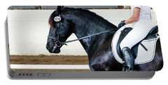 Dressage Horse Show Portable Battery Charger