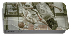 Portable Battery Charger featuring the photograph Dribble Drive by Ronald Santini