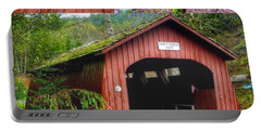 Drift Creek Covered Bridge Portable Battery Charger