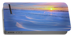 Portable Battery Charger featuring the photograph Drifting Away by Dan Jurak