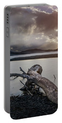 Driftwood At The End Of The World Portable Battery Charger