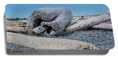 Driftwood Portable Battery Charger