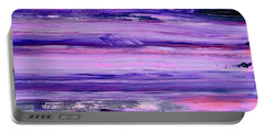 Driftwood Purple Portable Battery Charger