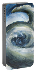 Portable Battery Charger featuring the painting Driftwood by Yulia Kazansky