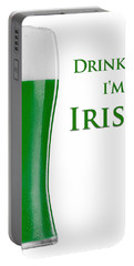 Drink Me I'm Irish Portable Battery Charger