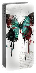 Dripping Butterfly Portable Battery Charger
