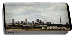 St Louis Skyline Portable Battery Charger