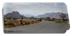 Driving Through Joshua Tree National Park Portable Battery Charger