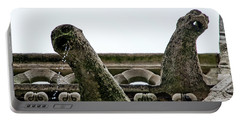 Drooling Gargoyles Portable Battery Charger by Jean Haynes