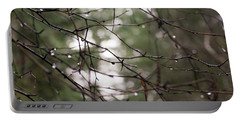 Droplets On Branches Portable Battery Charger