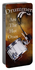 Drummers Are The Hot Ones Portable Battery Charger