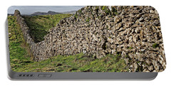 Dry Stone Wall In The Yorkshire Dales Portable Battery Charger