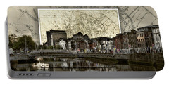 Dublin Skyline Mapped Portable Battery Charger