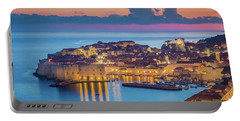Dubrovnik Twilight Panorama Portable Battery Charger