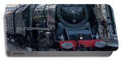 Duchess Of Sutherland Portable Battery Charger by David  Hollingworth