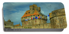 Portable Battery Charger featuring the photograph Duchesse Anne's Castle by Elf Evans