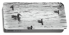 Duck And Ducklings Portable Battery Charger