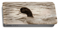 Duck In Pond Portable Battery Charger