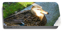 Duck Melanie Tweed In  The Sun Portable Battery Charger