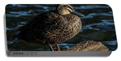 Duck On A Log Portable Battery Charger