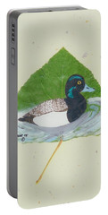 Duck On Pond #2 Portable Battery Charger