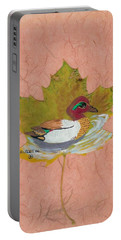 Duck On Pond Portable Battery Charger