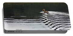 Duck On Ripple Wake Portable Battery Charger