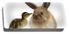 Duck Out Bunny Portable Battery Charger