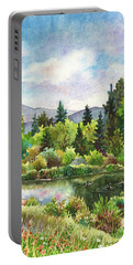 Duck Pond At Caribou Ranch Portable Battery Charger