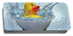 Duck Rubber Portable Battery Charger