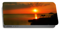 Duck Sunset Outer Banks North Carolina Portable Battery Charger