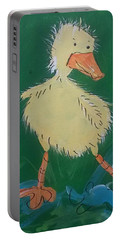Duckling 3 Portable Battery Charger by Terri Einer