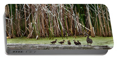 Ducks All In A Row Portable Battery Charger