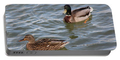 Ducks By The River Portable Battery Charger