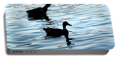 Ducks In The Evening Portable Battery Charger