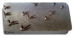 Ducks On The Occoquan River Portable Battery Charger