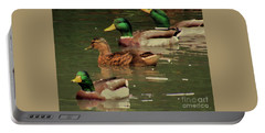 Ducks Race Portable Battery Charger
