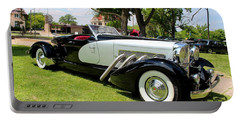Portable Battery Charger featuring the photograph Duesenberg Vii by Michiale Schneider