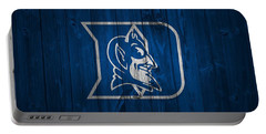 Duke Blue Devils Barn Door Portable Battery Charger