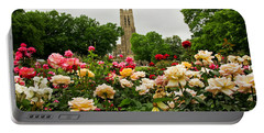 Duke Chapel And Roses Portable Battery Charger