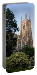 Duke Chapel Side View Portable Battery Charger