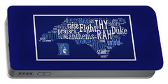 Duke University Blue And White Products Portable Battery Charger
