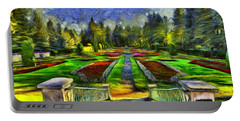 Duncan Gardens Van Gogh Style Portable Battery Charger