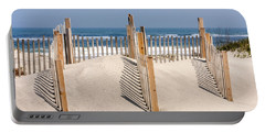 Dune Fence Landscape Portable Battery Charger