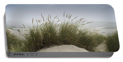 Dune Grass Along The Oregon Coast Portable Battery Charger