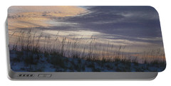 Dune Grass Blue Portable Battery Charger