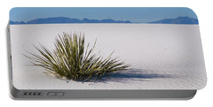 Dune Plant Portable Battery Charger by Marie Leslie