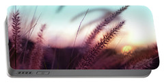 Portable Battery Charger featuring the photograph Dune Scape by Laura Fasulo